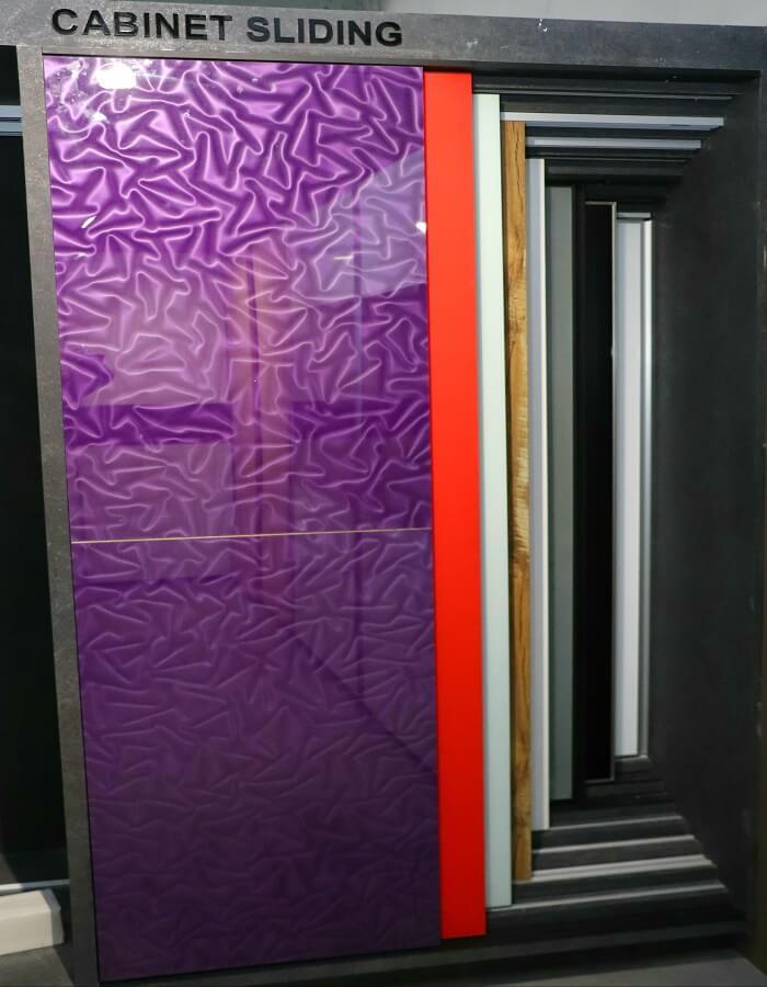 cabinet sliding